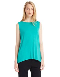Kenneth Cole Cecile Sleeveless Split Back Top Grove