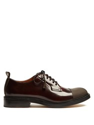 Joseph Leather Derby Shoes Dark Brown