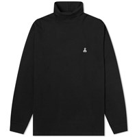 Sophnet. Long Sleeve High Neck Scorpion Tee Black