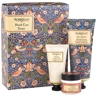 Heathcote And Ivory Morris And Co Strawberry Thief Hand Care Treats Gift Set