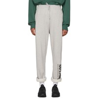 Vetements Grey '100 Pro' Baggy Lounge Pants
