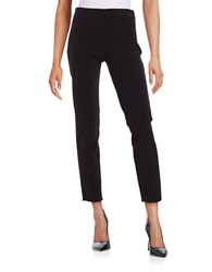 Dkny Flat Front Side Zip Pants Black