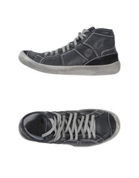 Brian Dales High Tops And Trainers Steel Grey