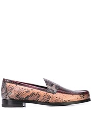 Pierre Hardy Loafer Shoes Brown