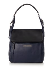 Kenneth Cole Hudson Hobo Bag Navy