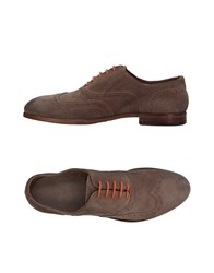 Pawelk's Lace Up Shoes Khaki