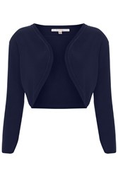 Nougat London Mimosa Shrug Navy