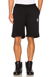 Marcelo Burlon Paco Shorts In Black