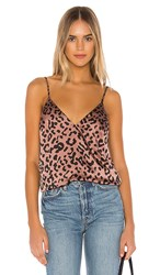 Cami Nyc The Olivia In Mauve. Graphic Leopard