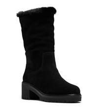 Michael Michael Kors Whitaker Shearling Lined Suede Boot