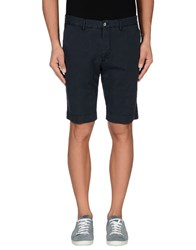 Vigano' Trousers Bermuda Shorts Men Dark Blue