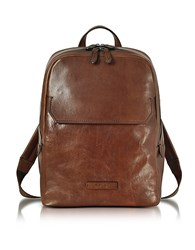 The Bridge Marrone Leather Men's Backpack Brown