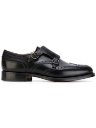 Church's Pitchford Double Monk Shoes Men Calf Leather Leather 6 Black
