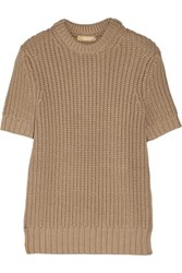 Michael Kors Collection Chunky Knit Sweater Sand