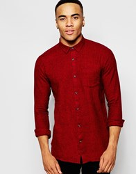 New Look Long Sleeve Shirt In Red