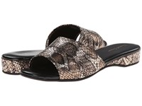 Daniel Green Dormie Gold Snake Women's Slippers