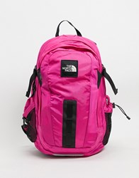 The North Face Hot Shot Backpack In Pink