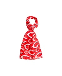 Forever Collectibles Cincinnati Reds All Over Logo Infinity Scarf