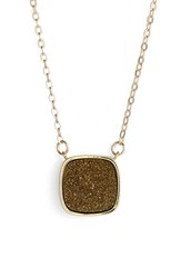 Women's Elise M. 'Athena' Cabochon Pendant Necklace Gold