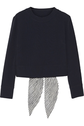 Maiyet Cutout Crepe Top