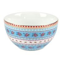 Pip Studio Ribbon Rose Bowl Blue