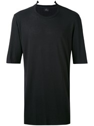 Lost And Found Ria Dunn Plain T Shirt Men Polyamide Viscose Angora Wool L Black
