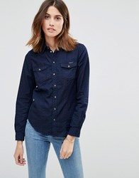 Pepe Jeans Rosie Denim Shirt Navy