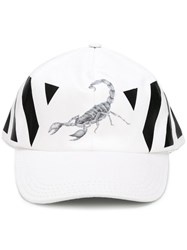 Off White Othelo Scorpion Cap White