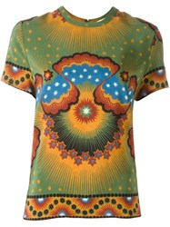 Valentino Volcano And Stars Print Top Multicolour