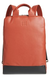 Moleskine Classic Leather Device Bag Burgundy Terrace Red