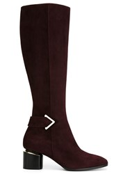 Nicholas Kirkwood 'Brannagh' Knee High Boots Red