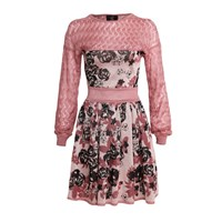 Ekaterina Kukhareva Florence Dress Pink Purple