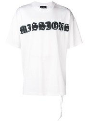 Mastermind Japan Missions T Shirt White