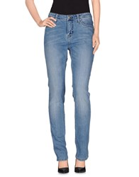 Carhartt Denim Denim Trousers Women Blue