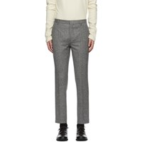 Harmony Grey Wool Trousers