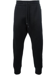 Helmut Lang Embroidered Joggers Black