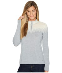 Dale Of Norway Snefrid Sweater T Grey Off White Gray