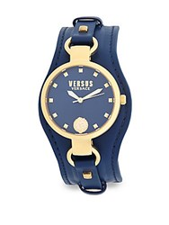 Versus By Versace Roslyn Stainless Steel Strap Watch Yellow Gold