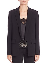 Alexander Wang Straight Fit Blazer Onyx