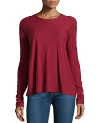 James Perse A Line Long Sleeve Tee Fortune
