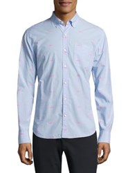 Bonobos Slim Fit Shark Print Shirt