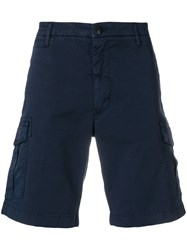 Eleventy Classic Fitted Shorts Blue