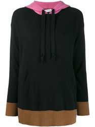 Etro Colour Block Hoodie Black