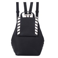 French Connection Winter Mini Backpack Black Summer White