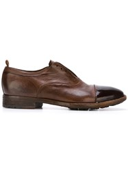 Officine Creative 'Princeton' Oxford Shoes Brown