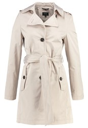 Comma Trenchcoat Champagner Beige