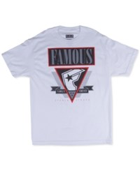 Famous Stars And Straps Famous Stars And Straps Men's Family Forever T Shirt White
