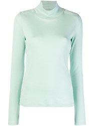 Each X Other Turtle Neck Jumper Green
