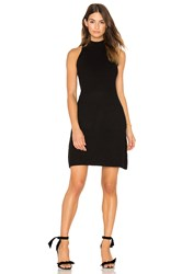 Bishop Young Scarlett Ribbed Sweater Dress Black