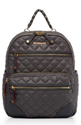 M Z Wallace Mz Small Crosby Backpack Grey Magnet